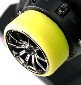 Pn Racing PN Racing Universal Transmitter Steering Wheel Grip (Yellow)