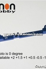 Pn Racing PN Racing Mini-Z MR03 Alum Tie Rod W 0 (Blue)