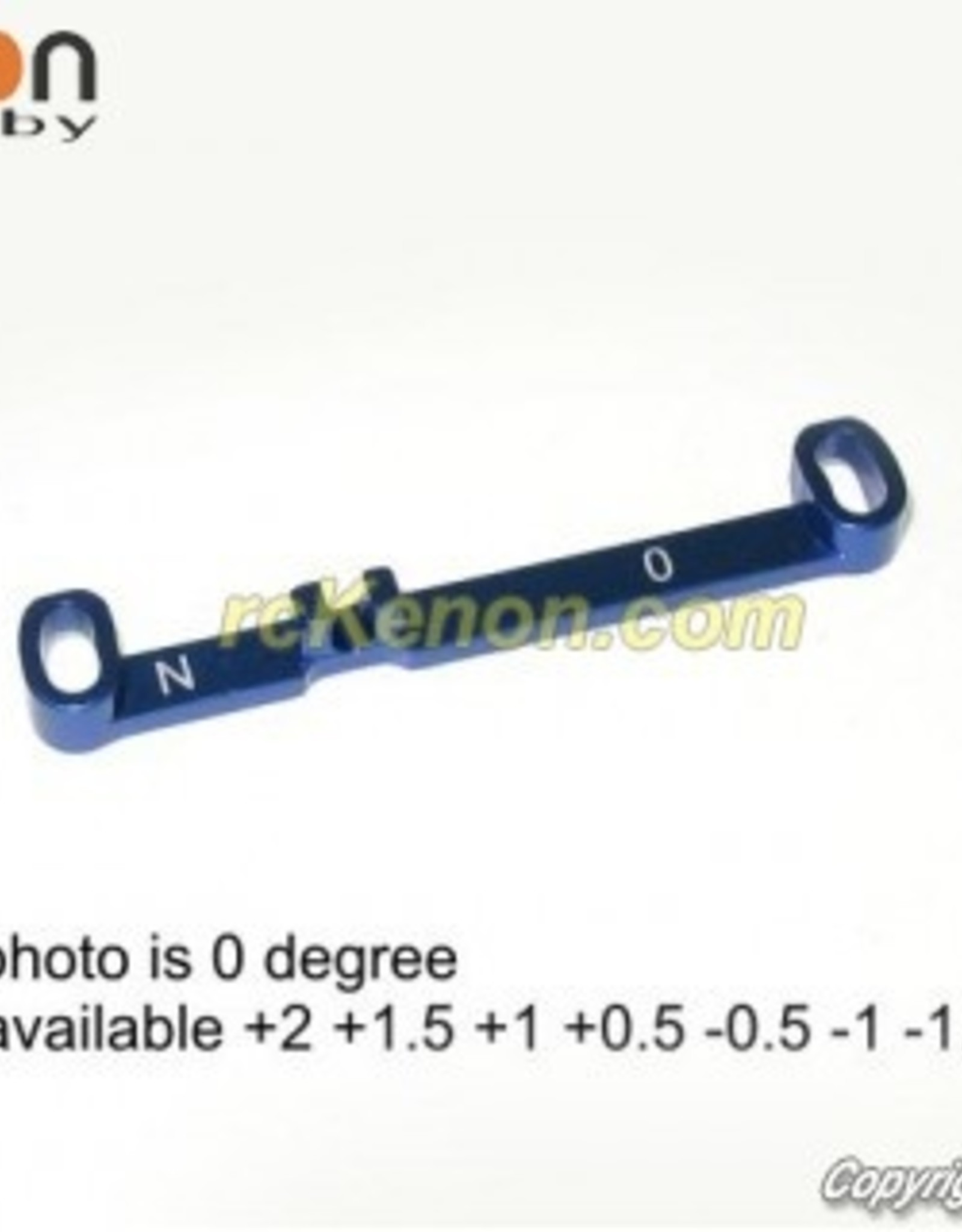 Pn Racing PN Racing Mini-Z MR03 Alum Tie Rod N 0 (Blue)