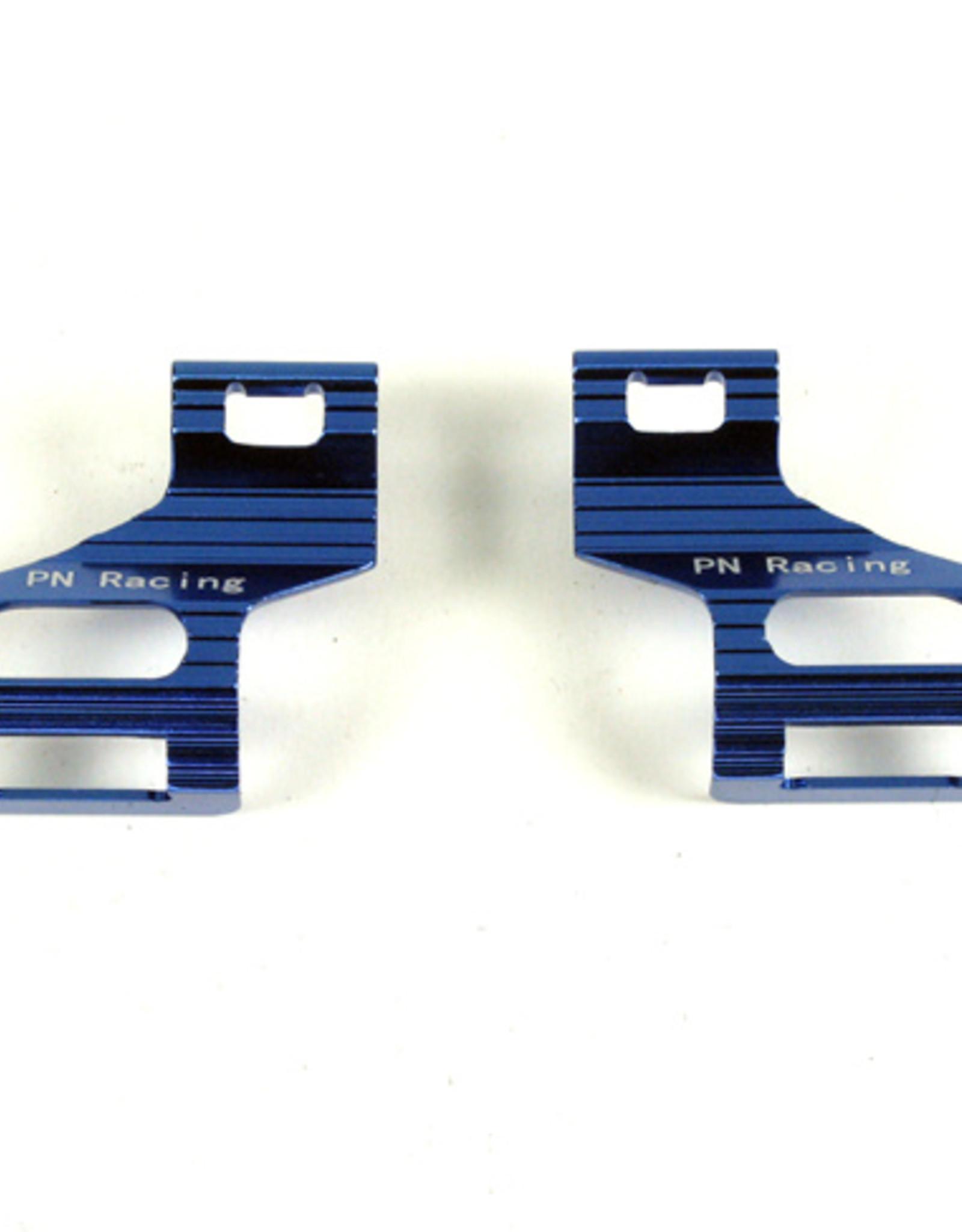 Pn Racing PN Racing Mini-Z MR03 V2 Alm Battery Cover Heatsink (Blue)