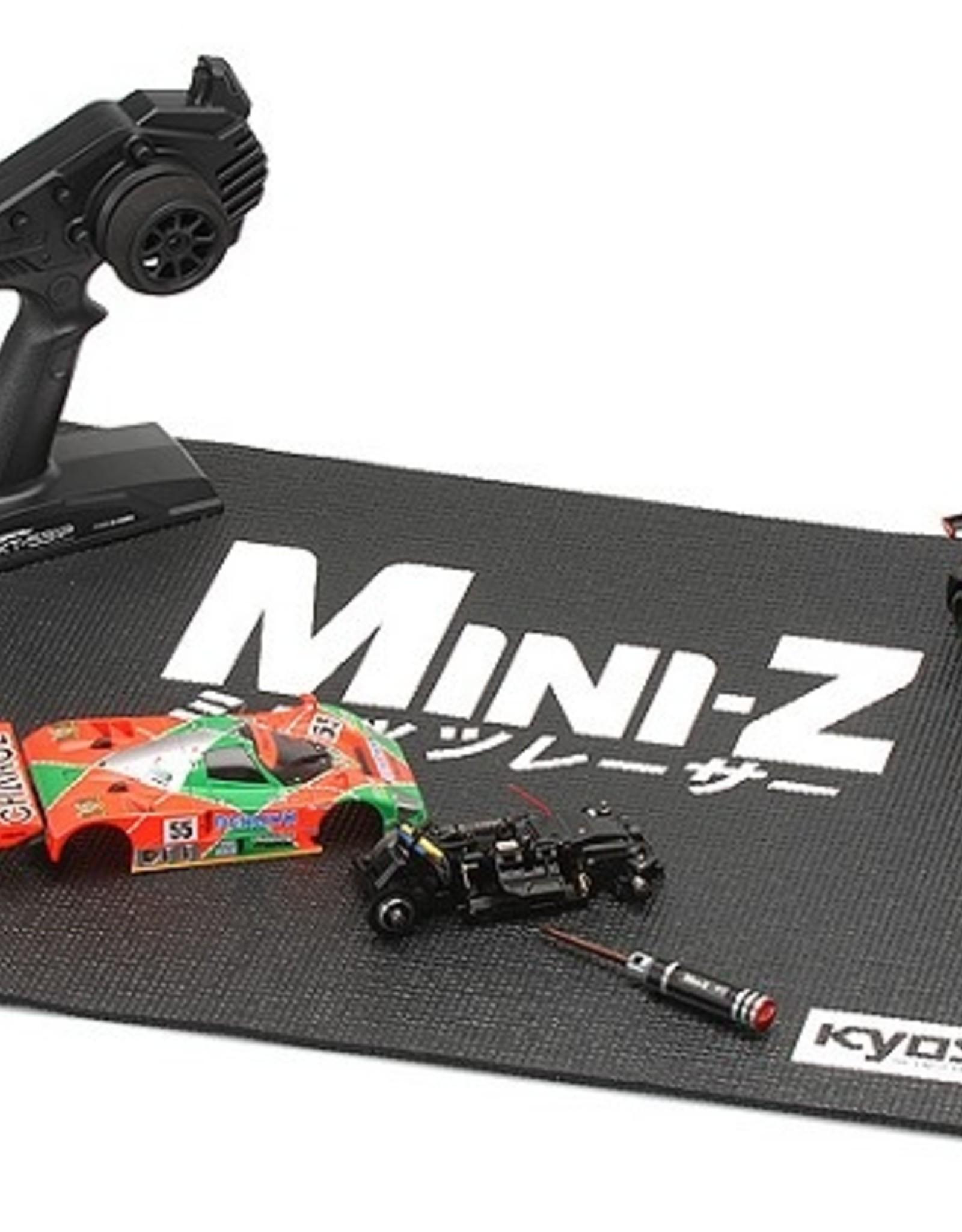 Kyosho Kyosho Mini-Z Black Pitmat 17x24 inch