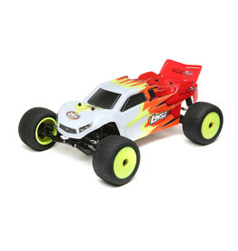 losi Losi Mini-T 2.0 RTR, Red/White: 1/18 2wd