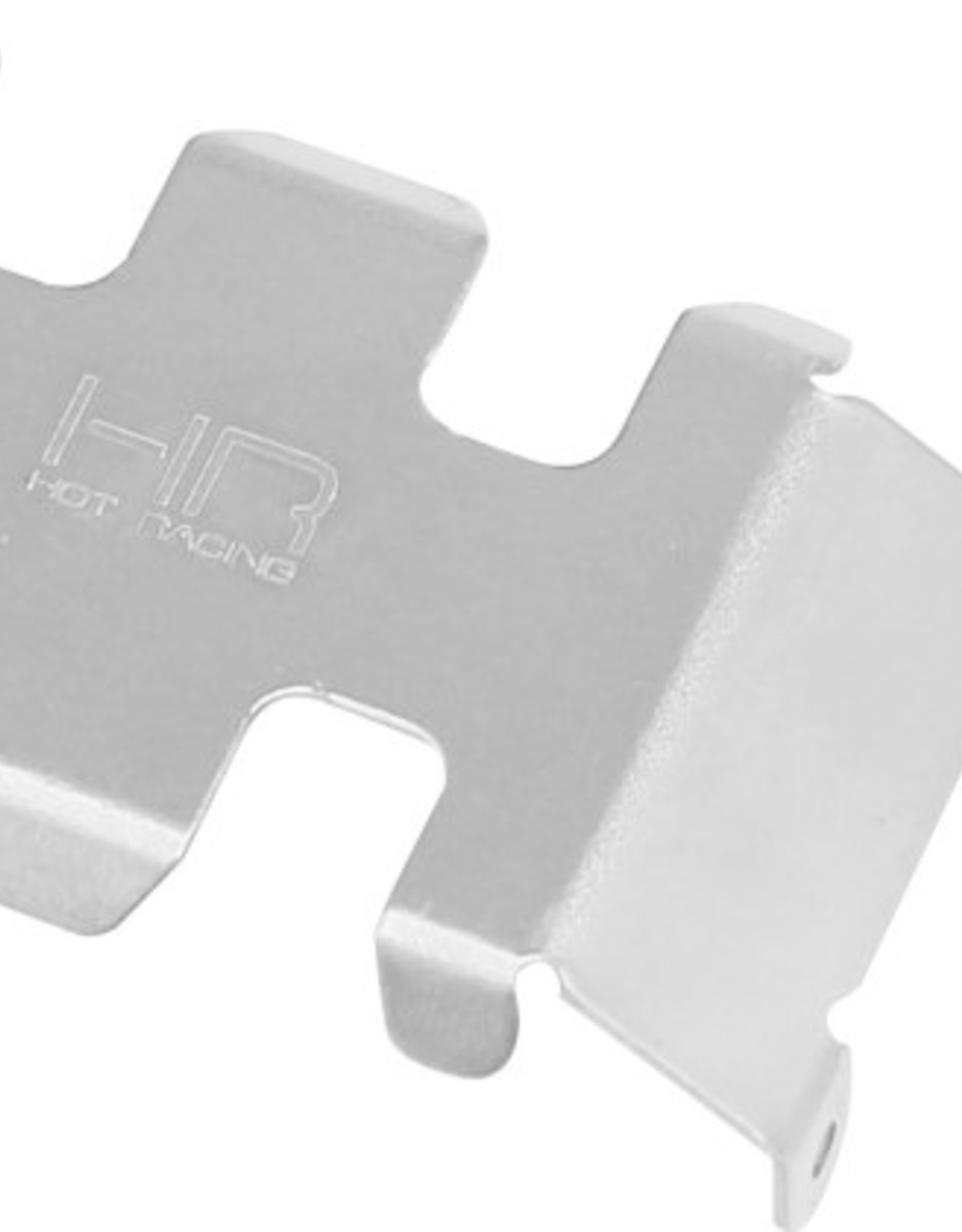 Hot Racing Hot Racing SCX24 Stainless Steel Center Belly Skid Plate SCX24