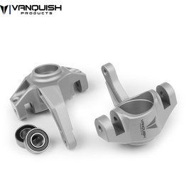 vanquish Rc AXIAL YETI / EXO STEERING KNUCKLES CLEAR ANODIZED
