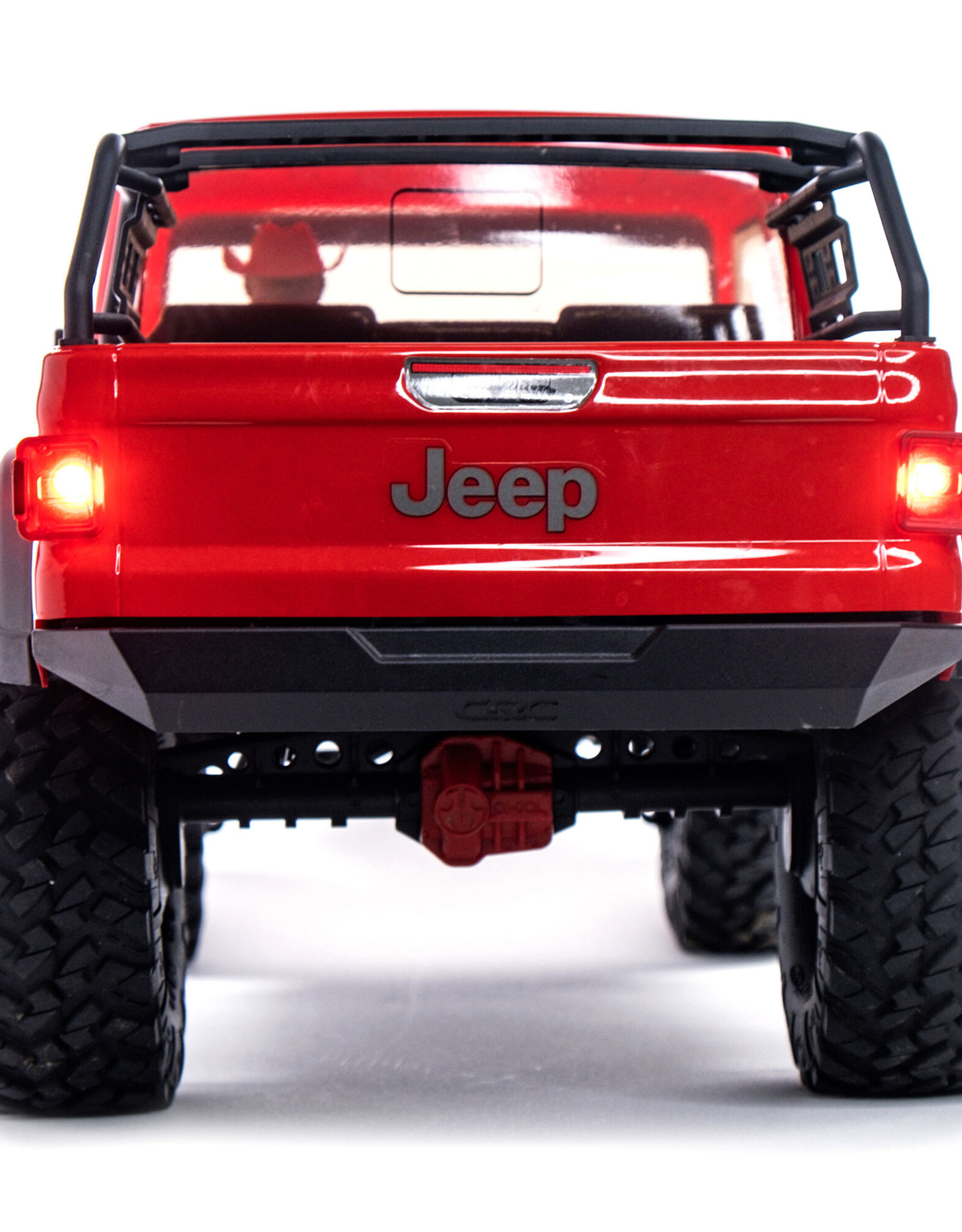 Axial Axial SCX10 III Jeep JT Gladiator w/Portals 1/10 RTR Red