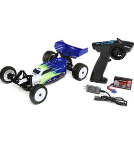 losi Losi 1/16 Mini-B Brushed RTR 2WD Buggy, Blue/White