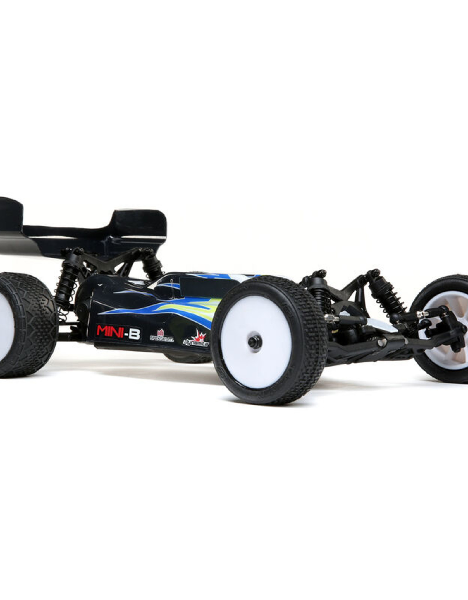 losi Losi 1/16 Mini-B Brushed RTR 2WD Buggy, Black/White