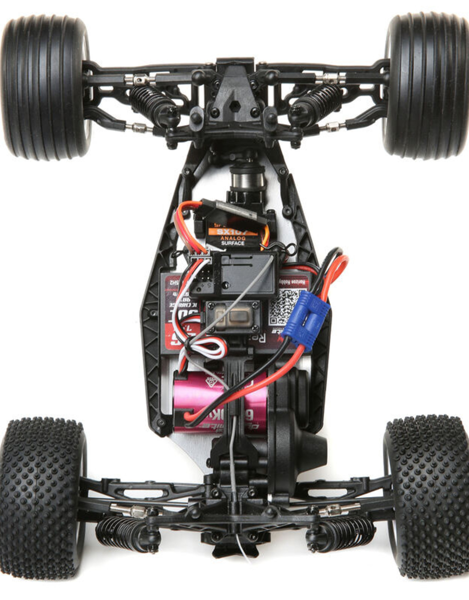 losi Losi 1/18 Mini-T 2.0 2WD Stadium Truck Brushless RTR Red