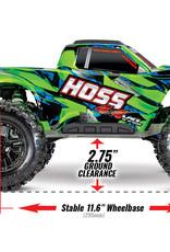 Traxxas Traxxas Hoss 4X4 Vxl 1/10 Scale w/TSM Green