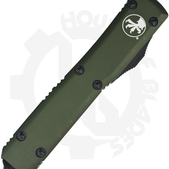 Microtech Ultratech Bayonet Black Std 120-1OD - OD Green (Auto OTF Knife)