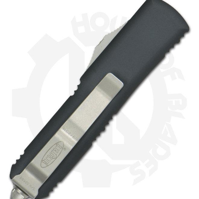 Microtech UTX-85 S/E Black Std 231-1 - Black (Auto OTF Knife)
