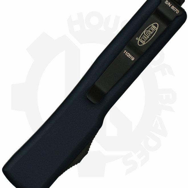 Microtech UTX-70 D/E Black Std Tactical 147-1T - Black (Auto OTF Knife)