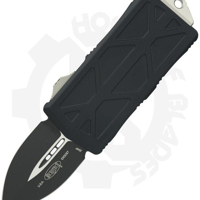 Microtech Exocet D/E Black Std 157-1 - Black (Auto OTF Knife)