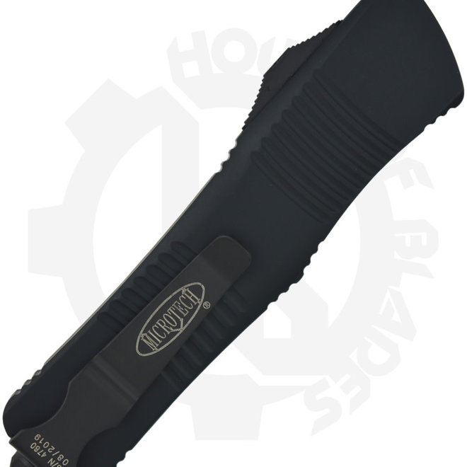 Microtech Troodon S/E Black Std Tactical 139-1T - Black (Auto OTF Knife)
