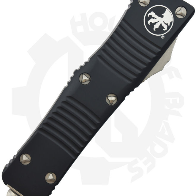 Microtech Troodon D/E Black Std P/S 139-11 - Black (Auto OTF Knife)