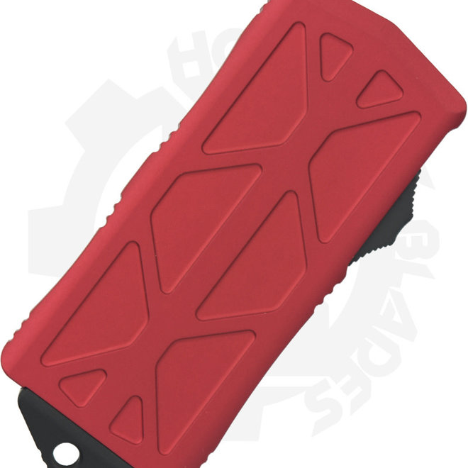 Microtech Exocet D/E Black Std 157-1RD - Red (Auto OTF Knife)