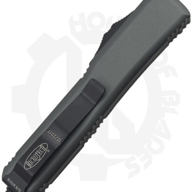Microtech Ultratech S/E Black Std 121-1GY - Gray (Auto OTF Knife)