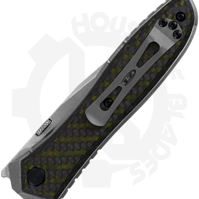 Zero Tolerance Ernest Emerson 0640 - Green Carbon Fiber (Manual Flipper Knife)