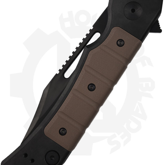 Zero Tolerance Tim Galyean 0223 - Black (Manual Flipper Knife)