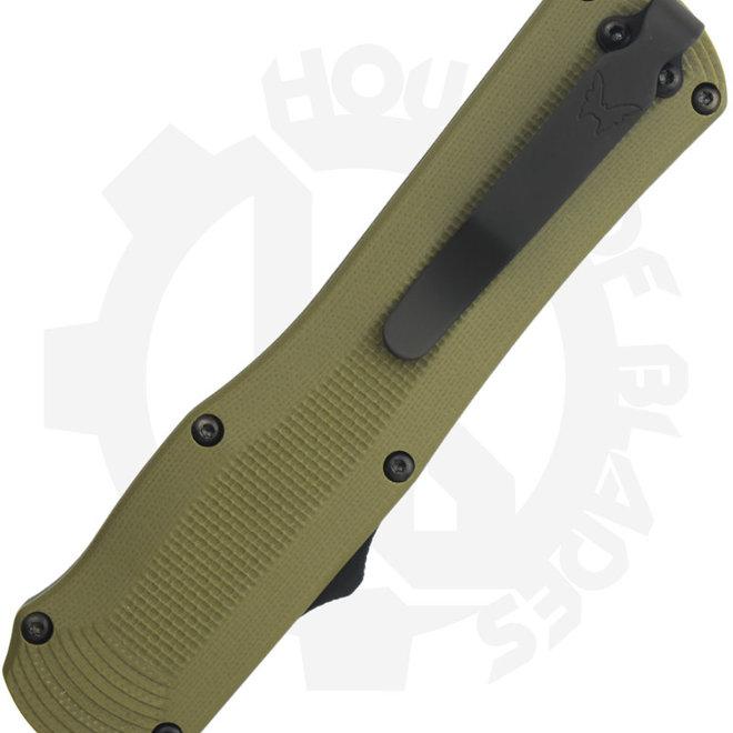 Benchmade Black Class Autocrat 3400BK-1 - G-10/OD (Auto OTF Knife)