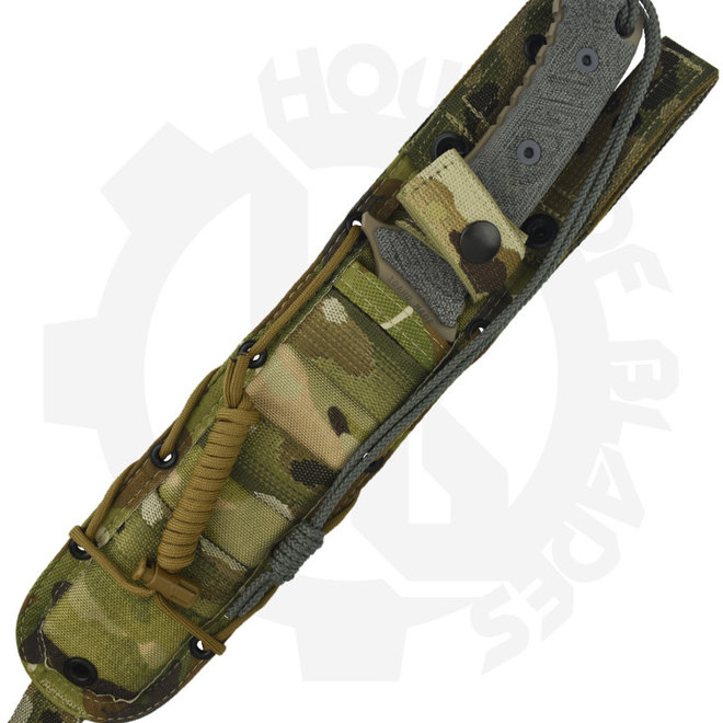 Chris Reeve Knives Pacific PAC-1004 Flat Dark Earth, Clip Point Fixed Blade Knife