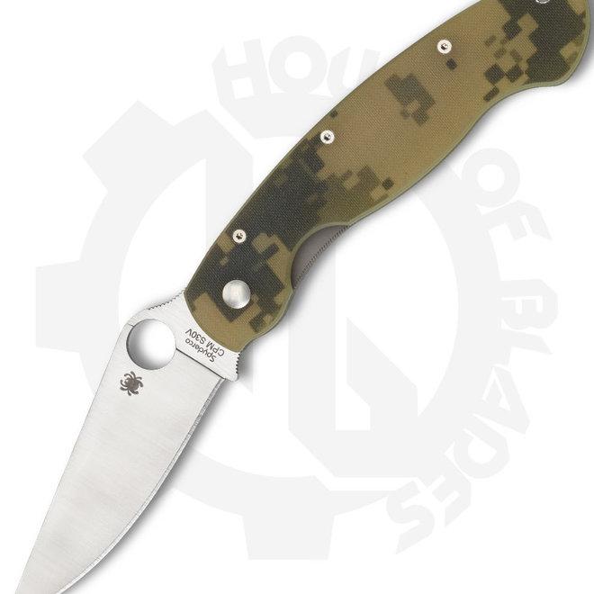 Spyderco Military C36GPCMO - Camo G-10 (Manual Folding Knife)