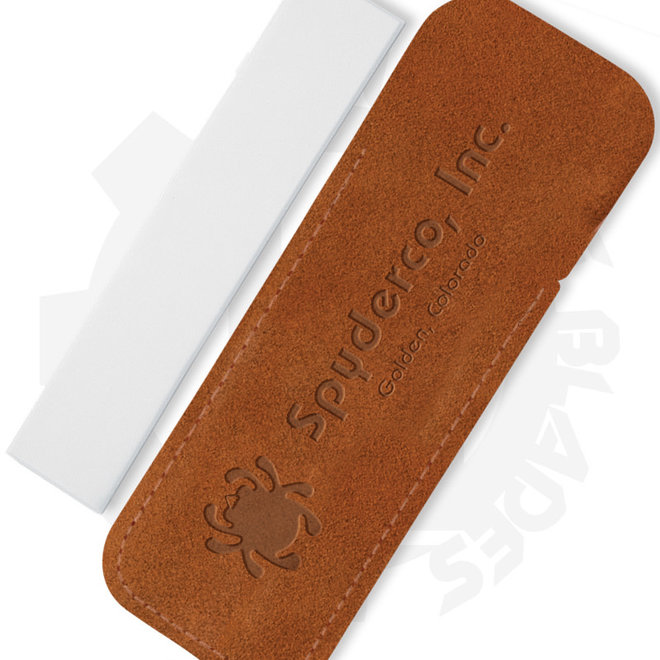 Spyderco Pocket Sharpening Stone Fine 1 in. x 5 in. 303F - White (Stone Style - Sharpener)