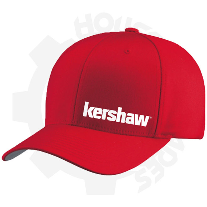 Kershaw Large/Xlarge HATKERSTRETCHFITREDL/XL - Red (Apparel - Hats)