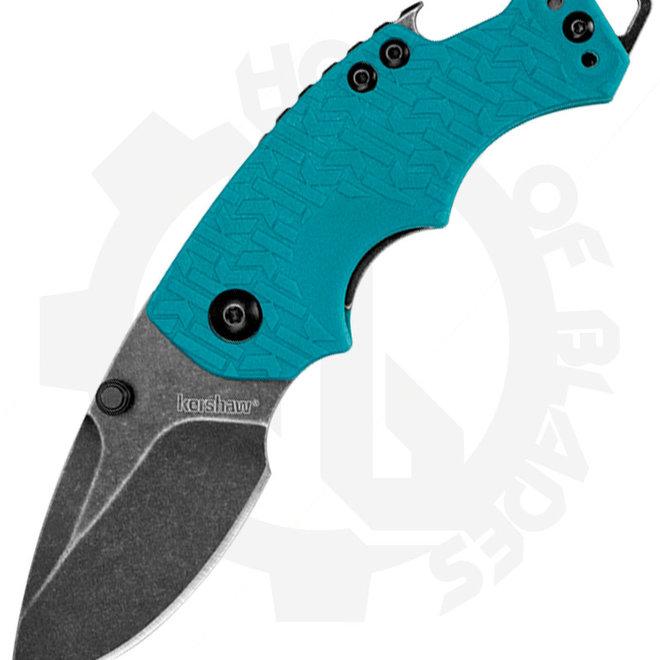 Kershaw Shuffle 8700TEALBW - Teal Blackwash (Manual Folding Knife)