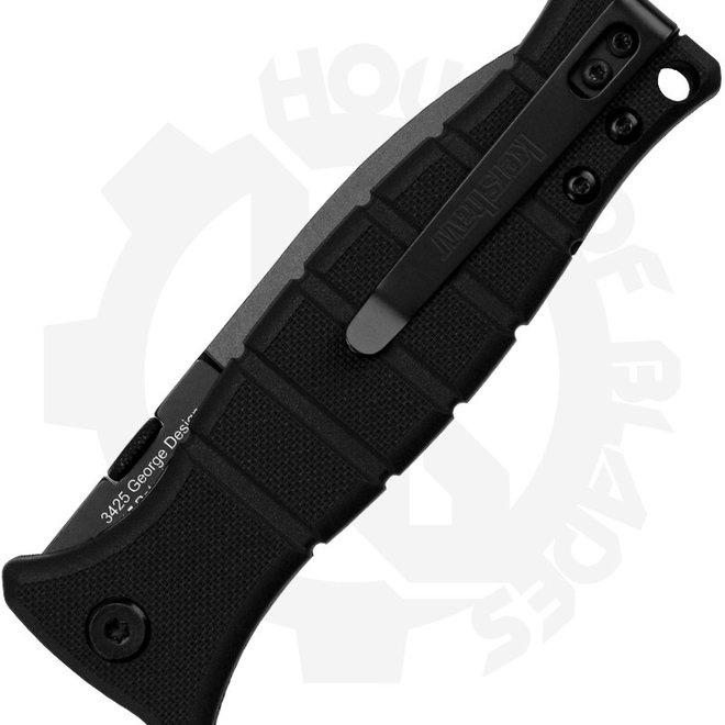 Kershaw Xcom 3425 - Black (Manual Folding Knife)