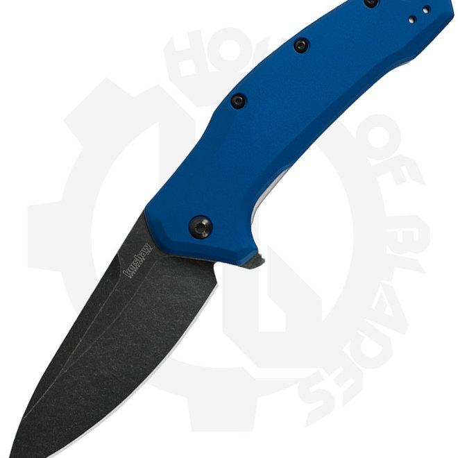Kershaw Link 1776NBBW - Navy Blue Blackwash (Assisted Knife)