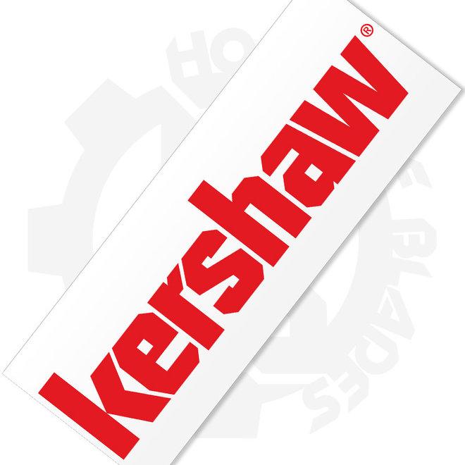 Kershaw '17 Sticker 8 x 2.5 in. KERDECALLG17 - Red (Accessory - Decals)