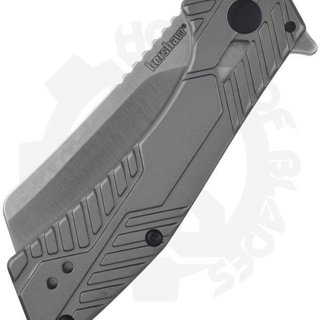 Kershaw Static 3445 - Silver (Manual Flipper Knife)