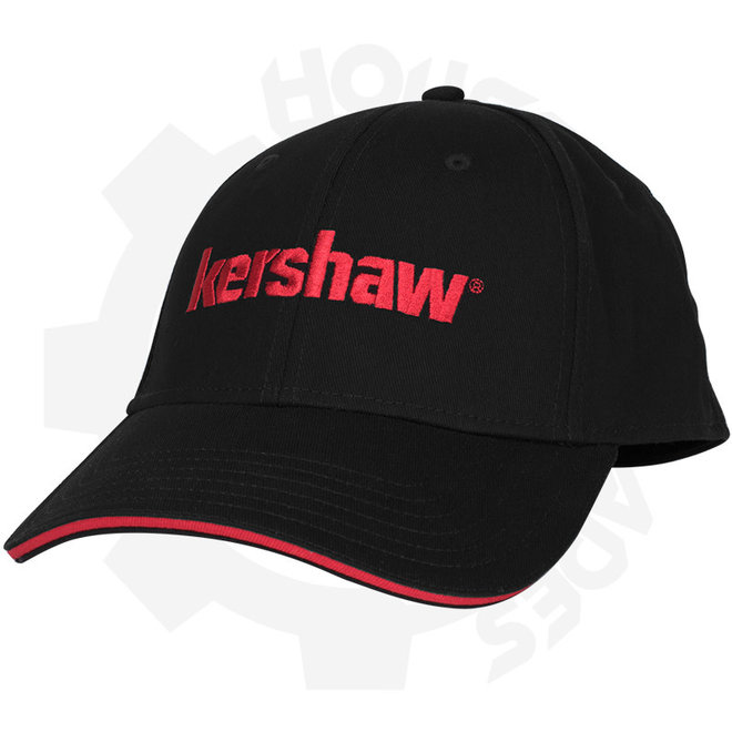 Kershaw Cap 2 CAPKER182ML - Black & Red (Apparel - Hats)