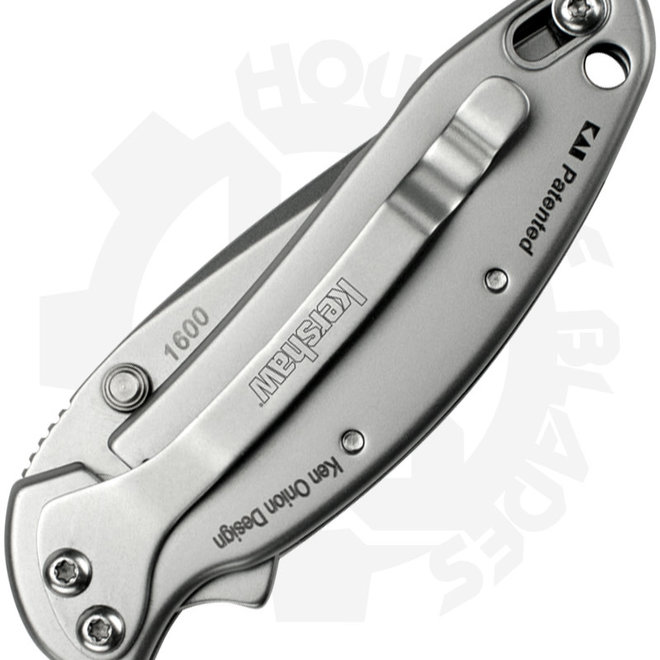 Kershaw Chive Ken Onion 1600 - Stainless Steel (Assisted Knife)