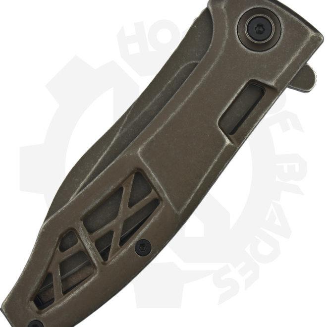Kershaw Boilermaker 3475 - Brown (Assisted Knife)