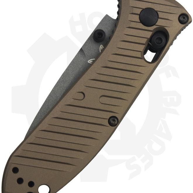 Benchmade Black Class Mini Presidio II 575GY-2001 - Bronze (Manual Folding Knife)