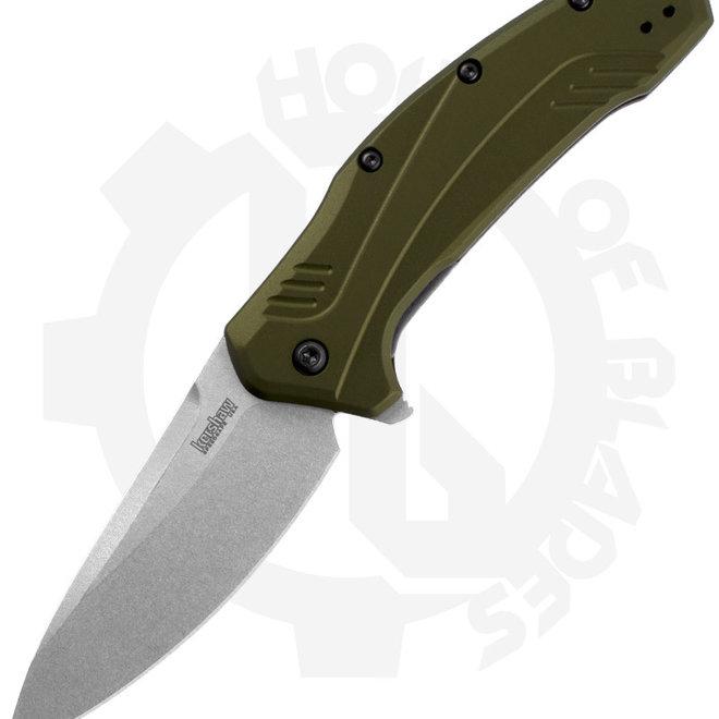 Kershaw Link 1776OLSW - Olive/Stonewash (Manual Folding Knife)