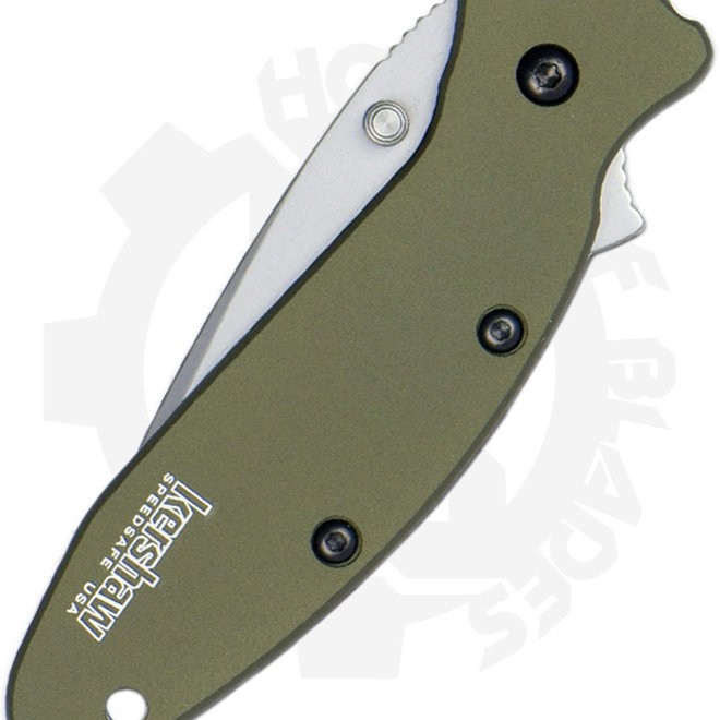 Kershaw Scallion Ken Onion 1620OL - Olive Drab (Assisted Knife)