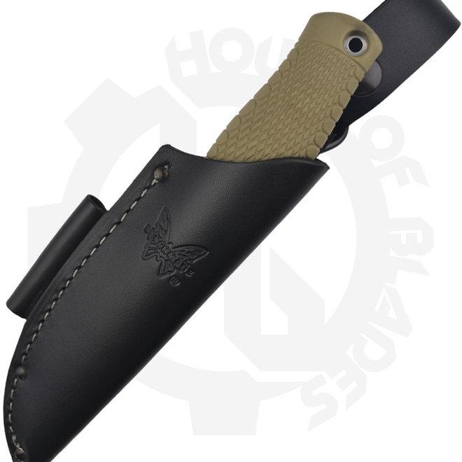 Benchmade Blue Class Puukko 200 - OD Green (Fixed Blade Knife)