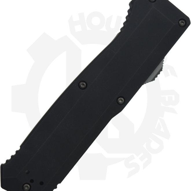 Benchmade Black Class Precipice 4700DLC - Spear-Point DCC Black (Auto OTF Knife)