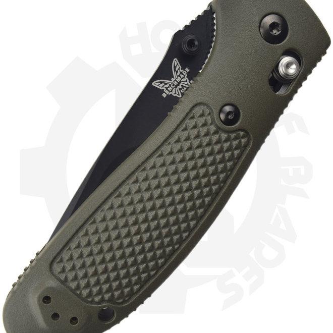 Benchmade Blue Class Griptilian Pardue 551BKOD-S30V - OD Green (Manual Folding Knife)