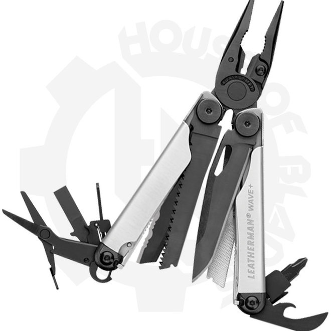Leatherman Wave Plus 832622 - Black/Silver (Multi-Tool)