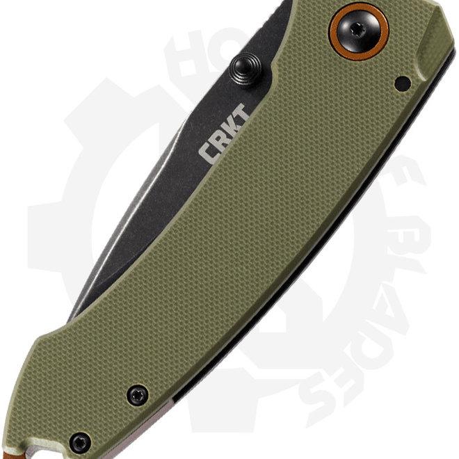 CRKT  TUNA  2520 - OD green (Manual Folding Knife)
