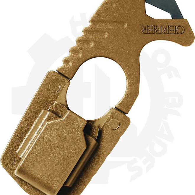 Gerber Strap Cutter 30-000132 - Coyote Brown (Accessory - Tools)