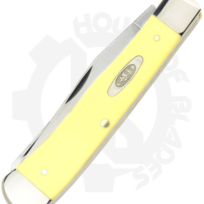W.R. Case  00161 - Yellow (Traditional Trapper)