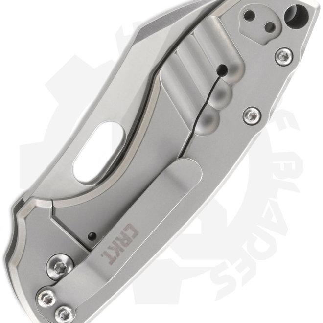 CRKT  Pilar Jesper Voxnaes 5311 - Gray (Manual Folding Knife)