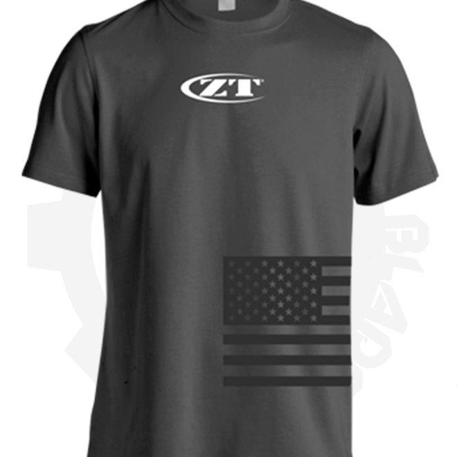Zero Tolerance T-shirt SHIRTZT182M - Medium/Charcoal (Apparel - Shirts)