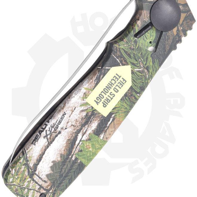 CRKT  Homefront Hunter Ken Onion K265CXP - Brown, Tan Camo (Manual Flipper Knife)