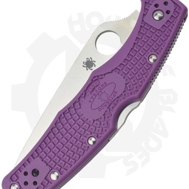 Spyderco Endura 4 C10FPPR - Purple FRN (Manual Folding Knife)